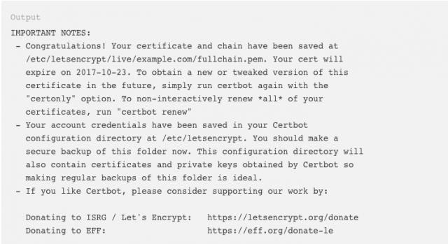 lets-encrypt-installed
